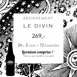 3-month subscription: Le divin