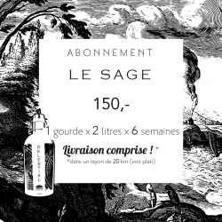 6-week subscription: Le sage