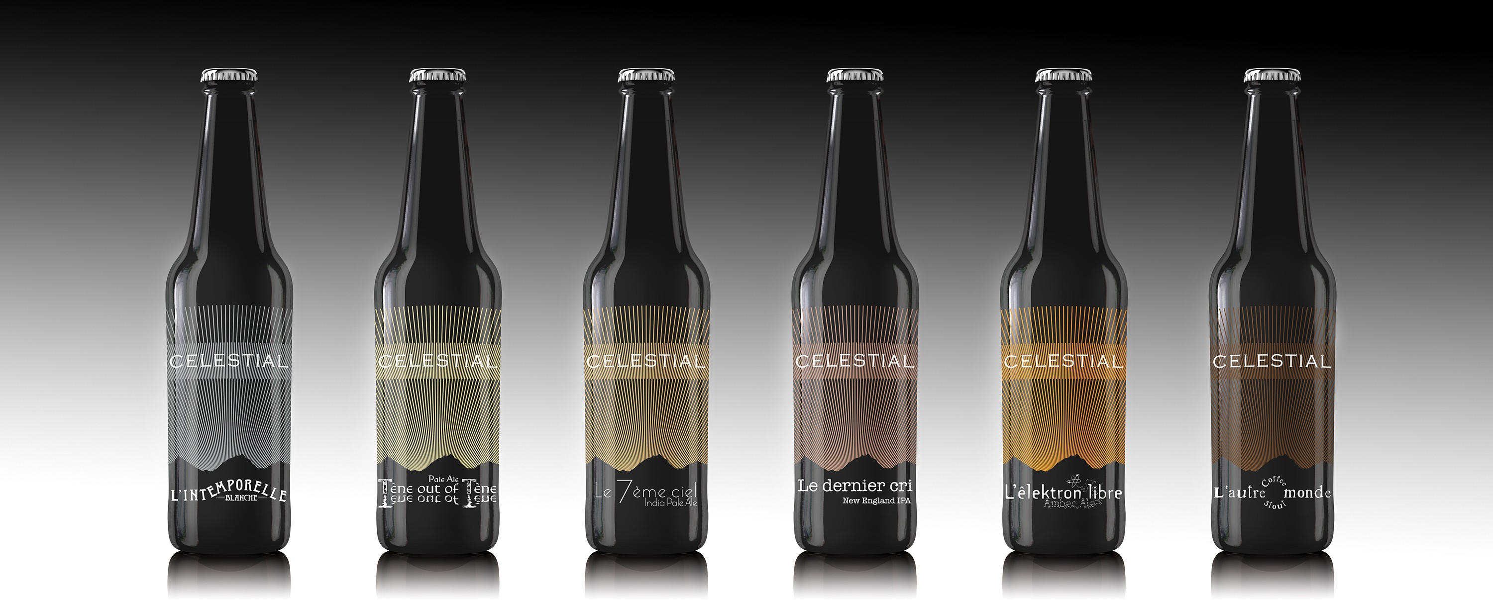 Celestials beer selection